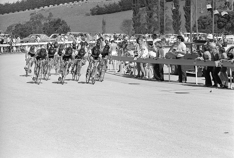 Stage finish at the 1972 Sun Tour
